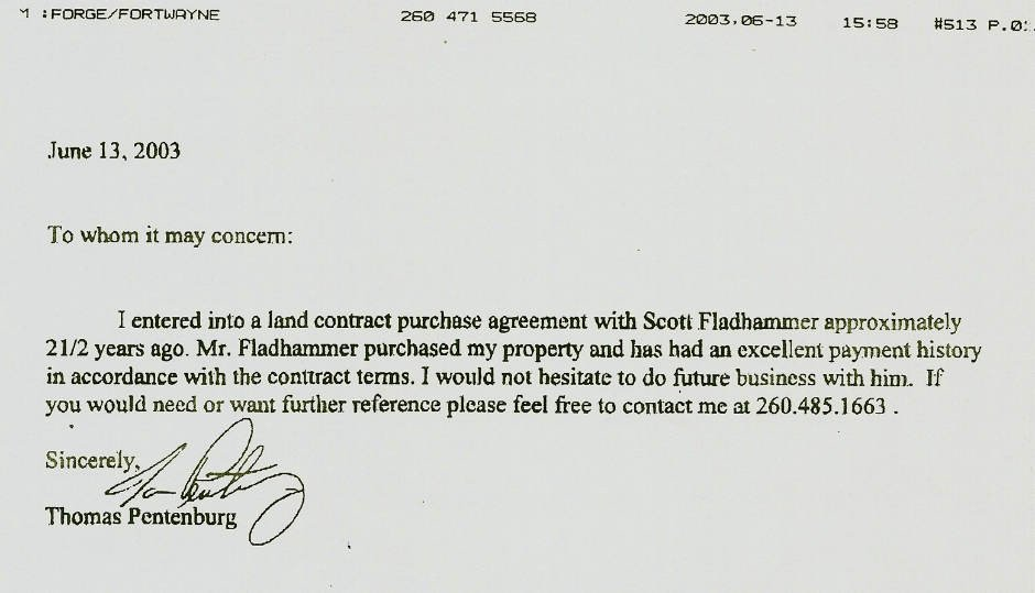 Letter Of Intent To Buy Foreclosed Property