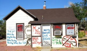 Vacant Fort Wayne Meth Lab House destroyed by vandals